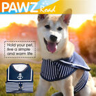 Small Pet Clothes With Harness Navy Style Sailor Design Dog Harness Puppy Vest