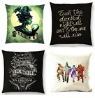 WIZARD OF OZ HAMILTON LES MISERABLES BROADWAY CUSHION COVER SINGLE SIDE WOVEN