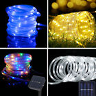 12M 100 LED Solar Powered Fairy Rope Tube Lights Garden Party Decoration Outdoor