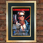 TERMINATOR Movie Poster Quality Autograph Mounted Signed Photo RePrint A4 730
