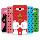 HEAD CASE DESIGNS CHRISTMAS CATS HARD BACK CASE FOR SAMSUNG PHONES 3