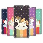 HEAD CASE DESIGNS FANCY UNICORNS 2 CHUBBY COLLECTION BACK CASE FOR SONY PHONES 2