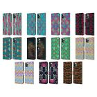 HEAD CASE DESIGNS CHAMELEON SKIN LEATHER BOOK CASE FOR APPLE iPHONE PHONES