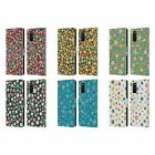 HEAD CASE DESIGNS DITSY FLORAL PATTERNS LEATHER BOOK CASE FOR SAMSUNG PHONES 1