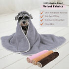 Pet Dog Cat  Blanket  Winter Warm Mat Bed Soft Cozy Fleece Cushion Mat Cover S-L
