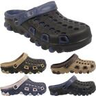 Mens Summer Holiday Beach Gardening Hospital Clogs Mules Sandals Shoes Sizes UK