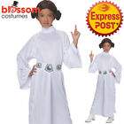 CK1135 Deluxe Girls Child Star Wars Princess Leia Fancy Dress Up Costume + Wig