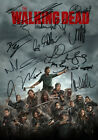 #2 WALKING DEAD Series 8 Autograph FILM MOVIE POSTER Print Signed by 13 of Cast