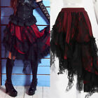 RQ PUNK DOLLY gothic RUFFLE Lolita NET LAYER 21013 SKIRT RED