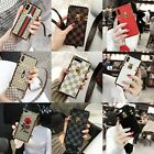 Fashionable Square Bumper Leather Lanyard Case Cover For iPhone X 8Plus 6s 7Plus