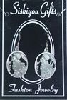 CHOOSE STYLE SISKIYOU GIFTS EARTH SPIRIT DANGLE EARRINGS WOLVES BETTY BOOP $15.95 USD on eBay