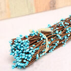 40cm DIY Artificial Fake Bud Branches Flower Wreath Iron Wire For Wedding Decor
