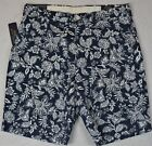 """Polo Ralph Lauren Navy Floral Shorts Stretch Classic Fit 9"""" 30 32 33 34 NWT"""