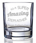 Personalised 70th Birthday Dimple Base Whisky Short Glass Tumbler Engraved Gift