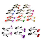Breast Nipple Clamps With Bell Ring Toy Adults Tease Game Body Piercing Jewelry