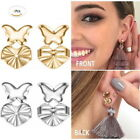 4 Pcs Magic Earring Backs Lifter Support Lifts Hypoallergenic  Sliver Gold