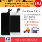 For iPhone 5S 5C 5 Screen Replacement LCD Against Digitizer Front Screen W/Button