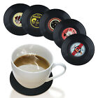 Retro Vinyl Record CD Coaster Music Drink Cup Holder Mats Tableware Gift Lovers
