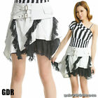 GLP PUNK gothic RUFFLE Lolita LAYER 61154 White SKIRT SM