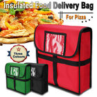 Insulated Pizza Food Delivery Bag Moisture Free Pizza Boxes Storage 13'x 13'