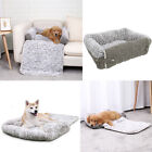 luxurious cat beds - Luxury Pet Sofa Bed Pad Dog Cat 3 in 1 Couch Mat Cover Cozy Kennel Pad Cushion