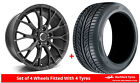 Alloy Wheels & Tyres 7.5x17 GEN2 Axiom 5 Grey Matt + 2055017 Tyres
