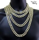 Miami Cuban Link Iced Out 14k Gold Plated 16