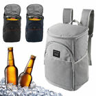 20L Insulated Cooling Backpack Picnic Camping Beach Ice Cooler Bag
