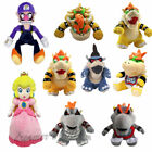 Super Mario Bros King Dark Bowser Jr. Koopa Family Plush Doll Stuffed Toy Gift