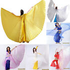 Belly Dance worship cosplay parade prop Isis Wings WITH expandable Sticks