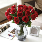 2018 HOT Head Real Touch Latex Rose Flowers For wedding Bouquet Decor 6 Colors