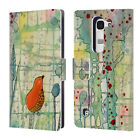 OFFICIAL SYLVIE DEMERS BIRDS LEATHER BOOK WALLET CASE COVER FOR LG PHONES 2