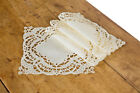 Xia Home Fashions Dainty Lace Square Doily Set of 4