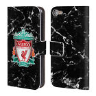 LIVERPOOL FC LFC 2017/18 MARBLE LEATHER BOOK CASE FOR APPLE iPOD TOUCH MP3