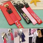 2pcs DIY Sticky Hook for Mobile Phone Case EXO BTS WANNA ONE GOT7 Laser Lanyard
