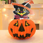 Paper Pumpkin Ghost Witch Cat Hanging Lantern Light Lamp Halloween Party Decor