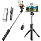 Extendable Selfie Stick Tripod Remote Bluetooth Shutter Fit For iPhone...