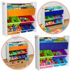 Children Kids Book Shelf Sling Storage Rack Organizer Bookcase Bookshelf Wooden