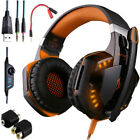 3.5mm Gaming Headset LED Headphones Stereo Surround for PS3 PS4 Xbox one X 360 E
