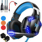 Kyпить 3.5mm Gaming Headset LED Headphones Stereo Surround for PS3 PS4 Xbox one X 360 E на еВаy.соm