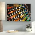 Ebern Designs 'Sharp Colors (80)' Photographic Print on Canvas