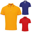 PREMIER CONTRAST COOLCHECKER POLO SHIRT S- 3XL 4XL PR618