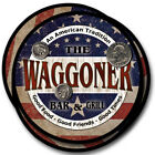 Waggoner Family Name Drink Coasters - 4pcs - Wine Beer Coffee & Bar Designs