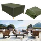 Rectangular Outdoor Patio Table Chair Cover Furniture Storage EHE8 03