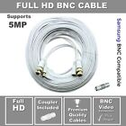 60ft Samsung Wisenet Compatible HD BNC Cable For 5MP SDH-C85105,  SDH-C84080