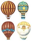 Hot Air Balloons Select-A-Size Waterslide Ceramic Decals Xx  image