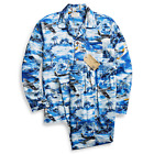 Ralph Lauren RRL Limited Edition Hawaiian Aviation Print Sleep Set Pajamas New