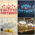 Happy Birthday Letters Foil Balloon Set Birthday Party Decorations Banner 16''