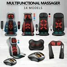 Full Body 12 Nodes Neck Back Car Seat Massager Shiatsu Massage Chair Pad Cushion