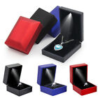 Led Lighted Earring Ring Gift Box Wedding Engagement Ring Jewelry Display Output
